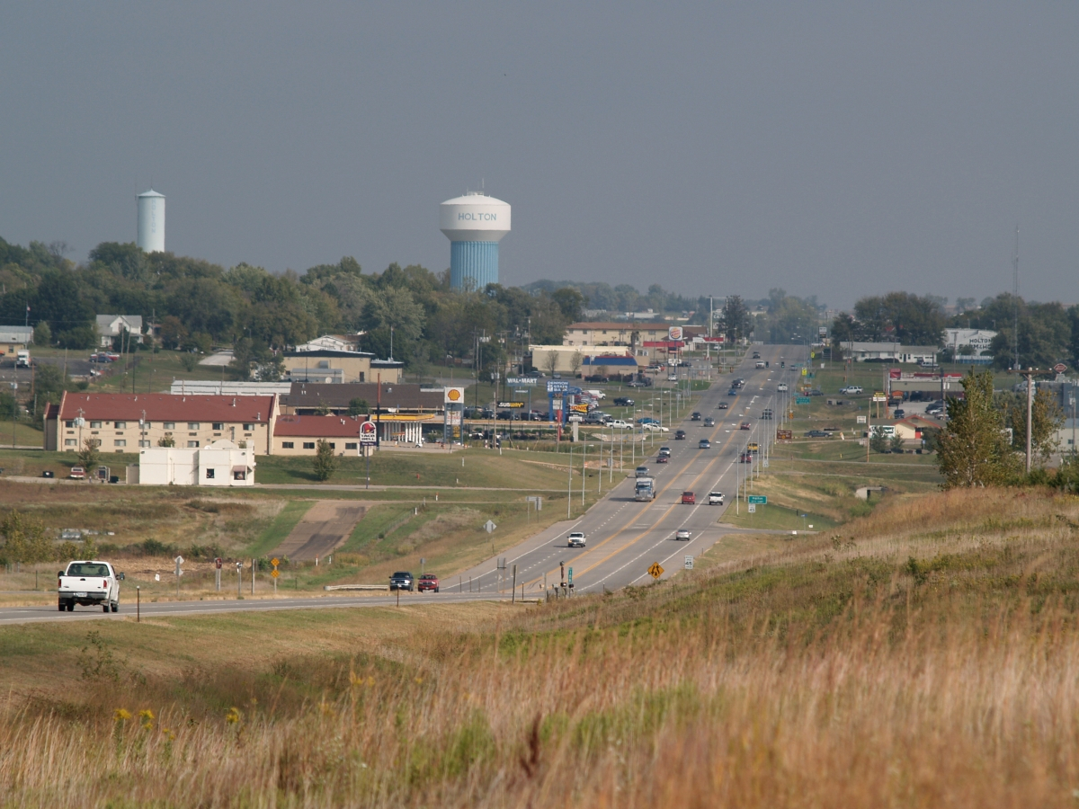 View of Holton Kansas